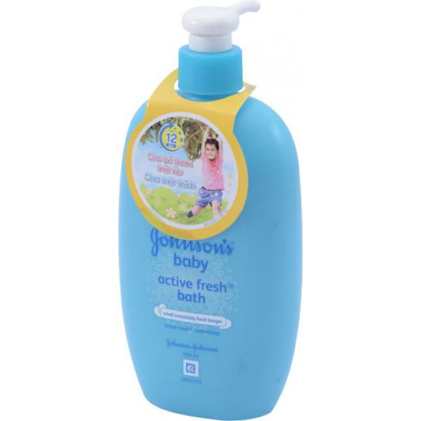 Sữa Tắm Johnson Thơm Mát Năng Động 500ML