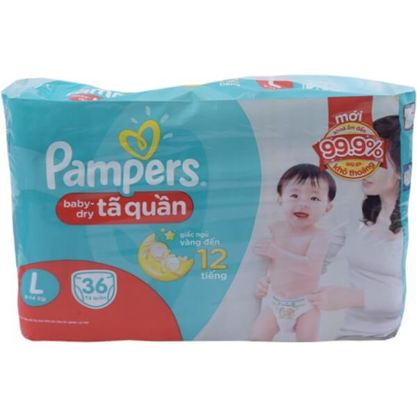 Tã Quần Pampers L36 RE