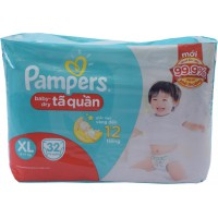 Tã Quần Pampers XL32 RE