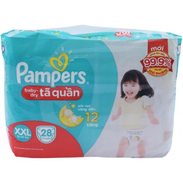 Tã Quần Pampers XXL28 RE