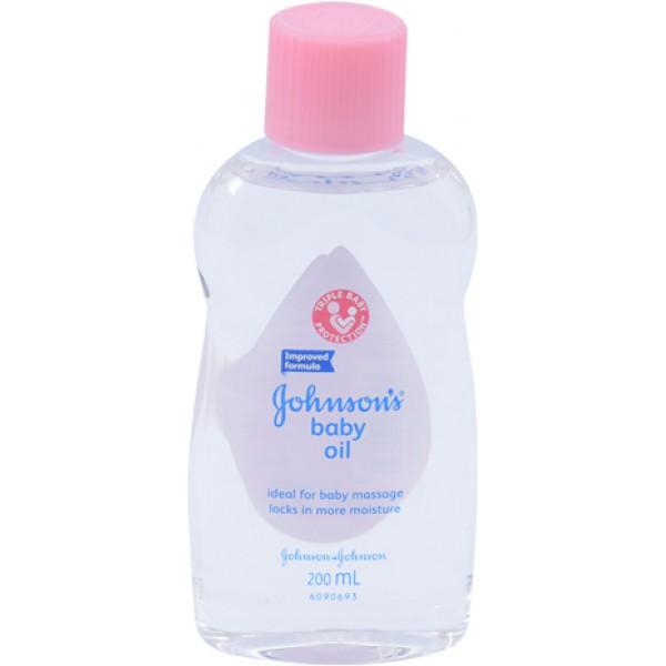 Dầu Massage & Dưỡng Ẩm Johnson Baby 200Ml