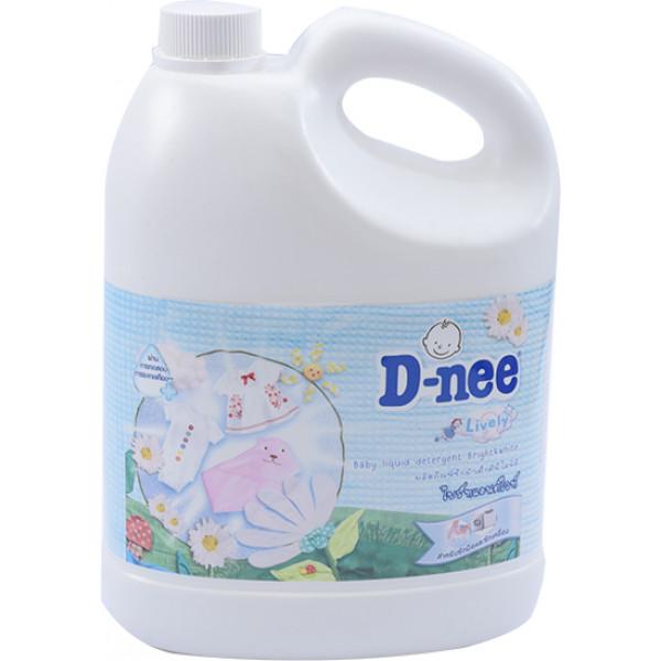 Nước Giặt Em Bé D-Nee Trắng Can 3L