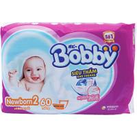 Tã Giấy Bobby Fresh Newborn 2-60
