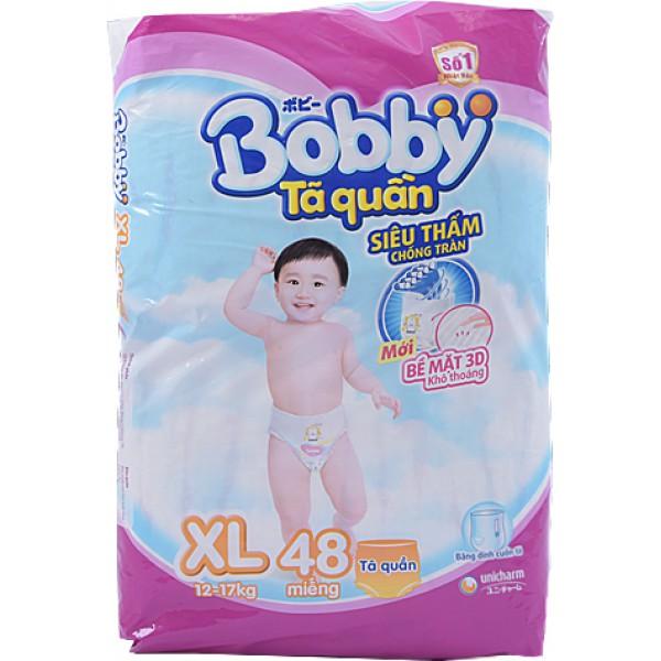 Tã Quần Bobby Fresh XL48