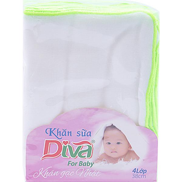 Khăn Sữa Diva 4 Lớp 30X38 Misa