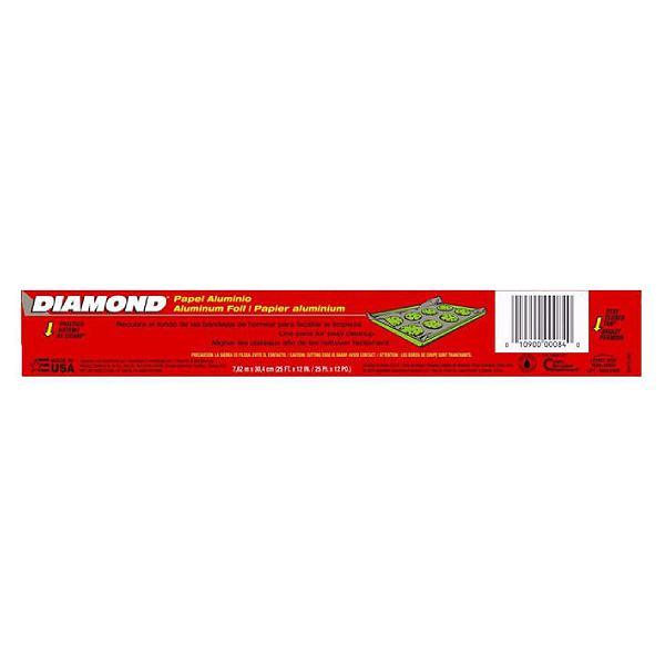 Màng Nhôm Lá Mỏng Diamond 30.4Cm*7.62M