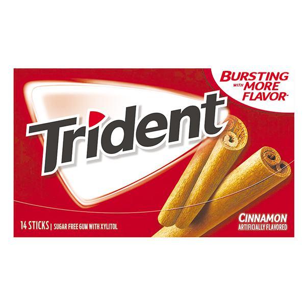 Kẹo Gum Trident Không Đường Vị Quế