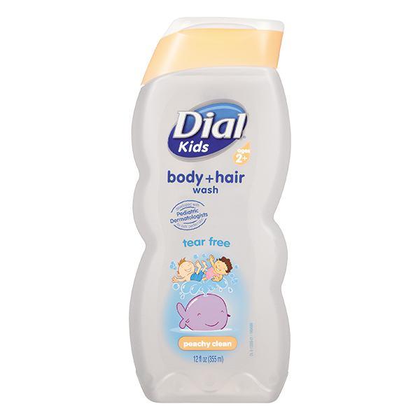 Sữa Tắm Gội Trẻ Em Dial Kids Peachy Clean Chai 355Ml