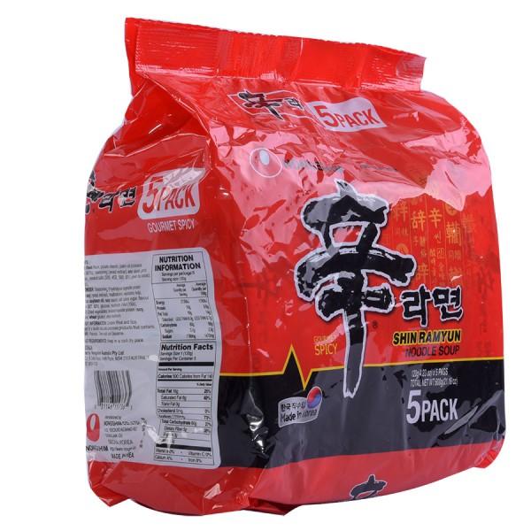Lô 5 Mì Shin Ramyun 120G