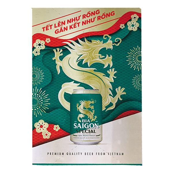 Bia Saigon Special Thùng 24 Lon 330Ml