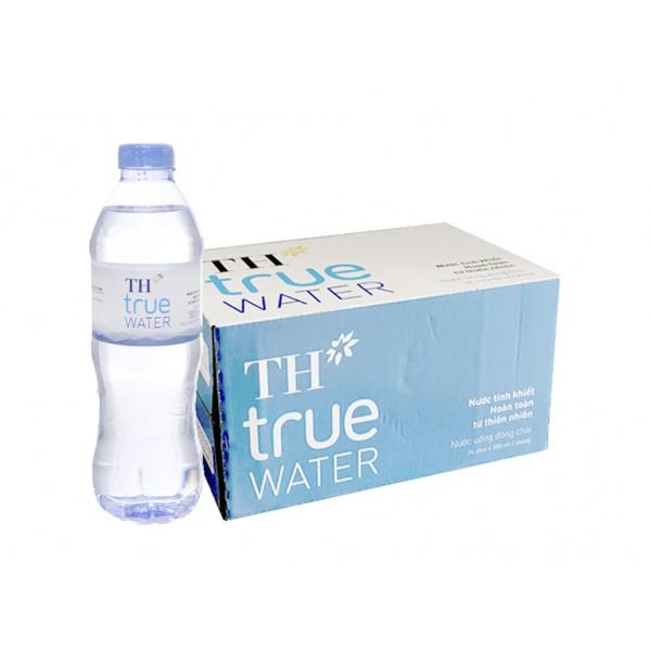 Nước Tinh Khiết TH True Water Thùng 24 Chai 500Ml