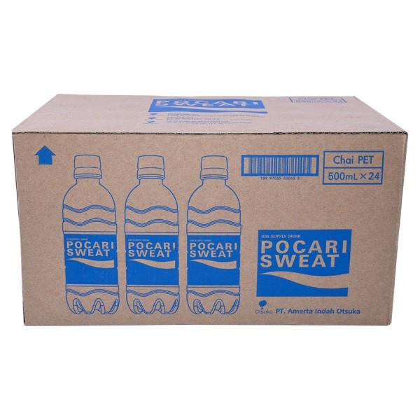 Nước Ion Pocari Sweat Thùng 24 Chai 500ML