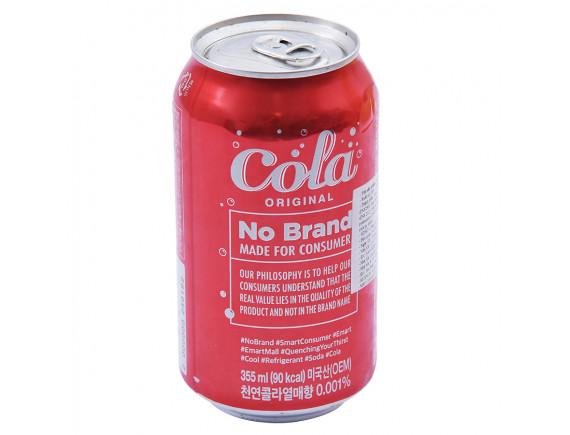 Nước Ngọt Cola Original No Brand 355Ml