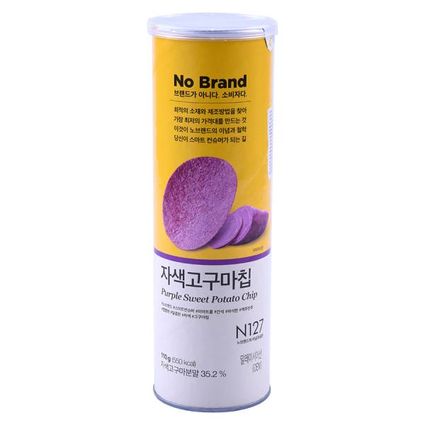 Snack Khoai Lang Tím No Brand 110G