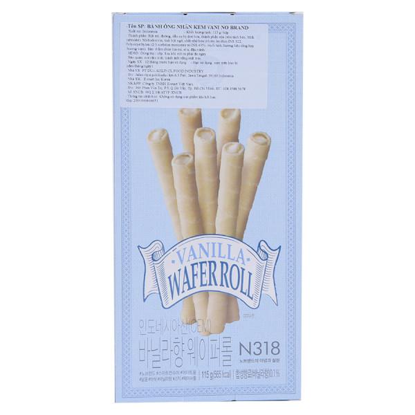 Bánh Ống No Brand Vị Vani 115G