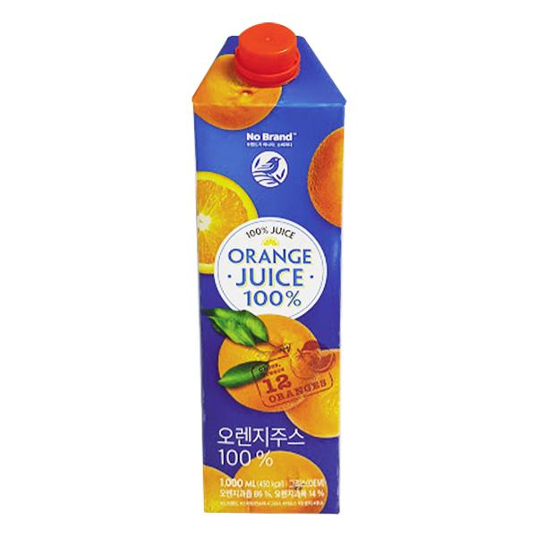Nước Cam Ép Nguyên Chất No Brand Hộp 1L