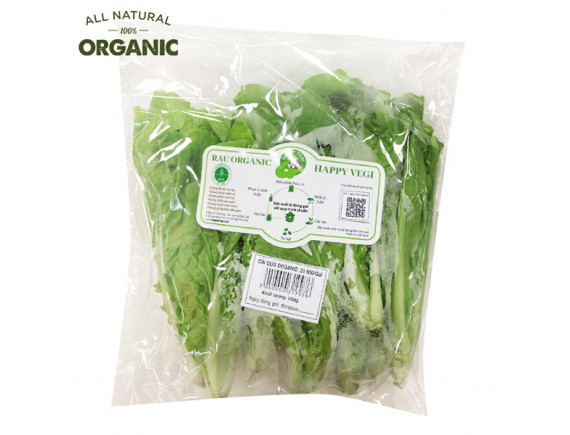 Cải Dún Organic Happy Vegi Gói 250G