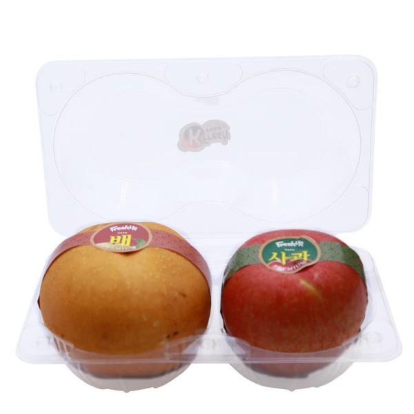 Lê & Táo Hàn Quốc Premium Hộp 2 Trái