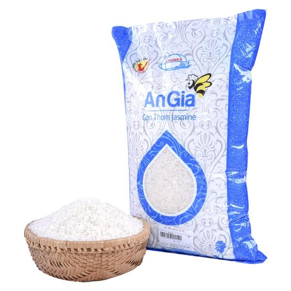 Gạo Thơm Jasmine AG 5Kg