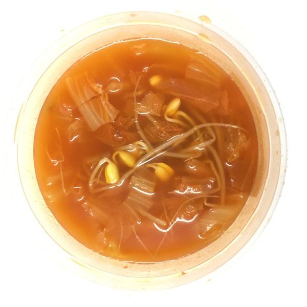 Takgalbi Dosirak (Cơm thịt gà xào cay+ súp kim chi) - 1 Set cơm phần đủ cho 2 người