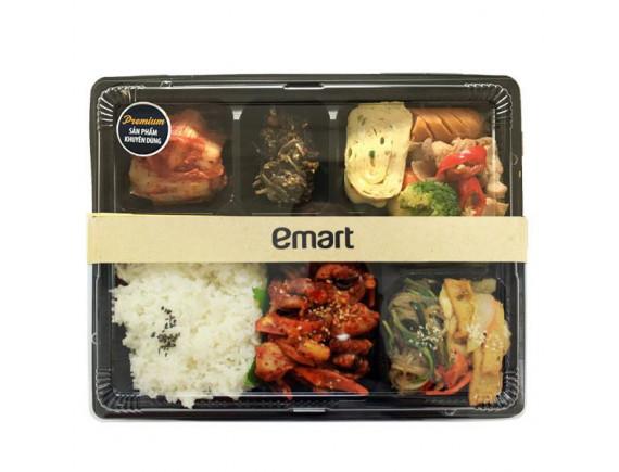 Nakji Dosirak (Cơm bạch tuộc xào + Súp kim chi) - 1 Set cơm phần đủ cho 2 người ăn