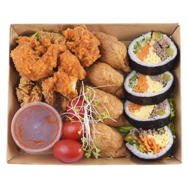 Set Kimbap Bò Và Gà