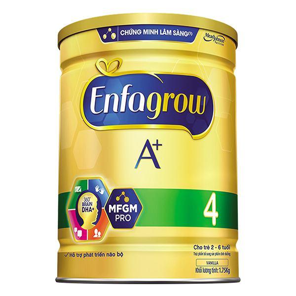 Sữa Bột Enfagrow A+4 DHA MFGM Pro 1750G