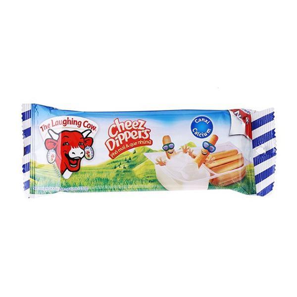 Phô Mai Con Bò Cười Chấm Bánh Cheez Dippers 35G