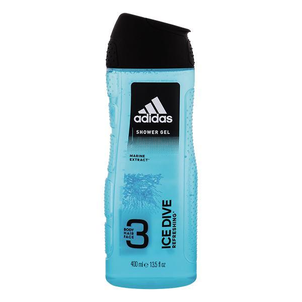 Sữa Tắm Gội Adidas Ice Dive 400Ml