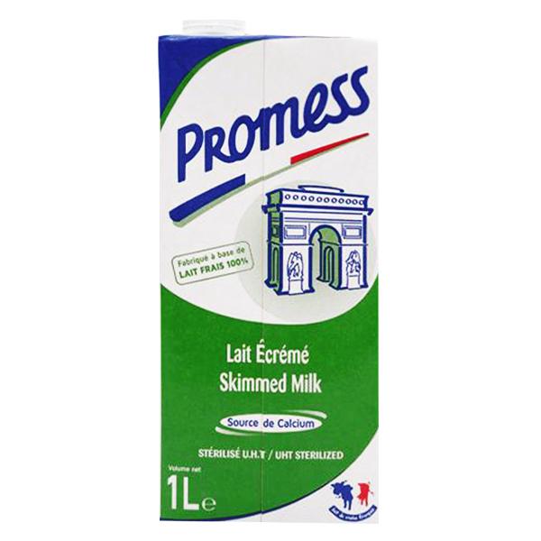 Sữa Tươi Tiệt Trùng Promess Không Béo 1L