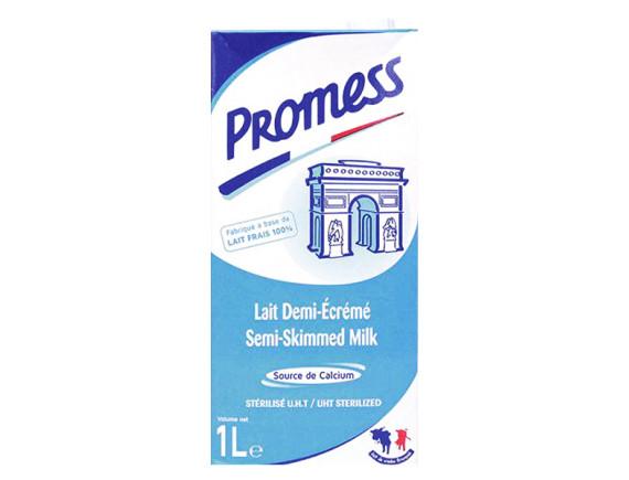 Sữa Tươi Tiệt Trùng Promess Ít Béo 1L
