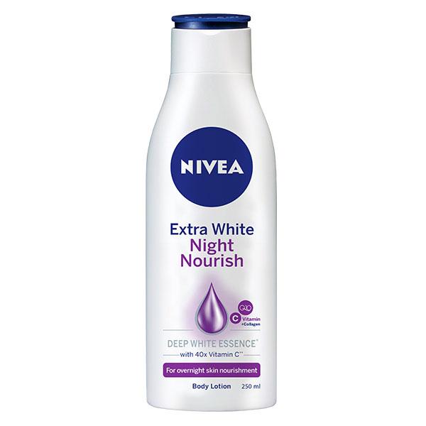 Sữa Dưỡng Thể Nivea Sáng Da Ban Đêm 250Ml