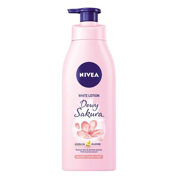 Sữa Dưỡng Thể Nivea Dewy Sakura 350Ml