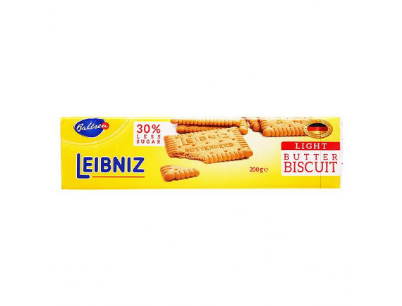 Bánh Quy Bơ Leibniz Ít Đường 200G