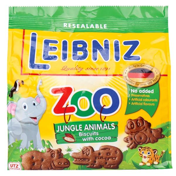 Bánh Quy Bahlsen Zoo Ca Cao 100G