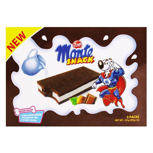 Bánh Zott Monte Sữa & Socola 58G