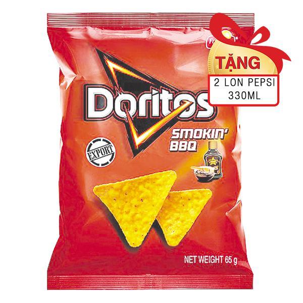 Snack Doritos Vị Smokin' BBQ 65G