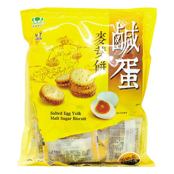 Bánh Quy Trứng Muối Đài Loan 180G