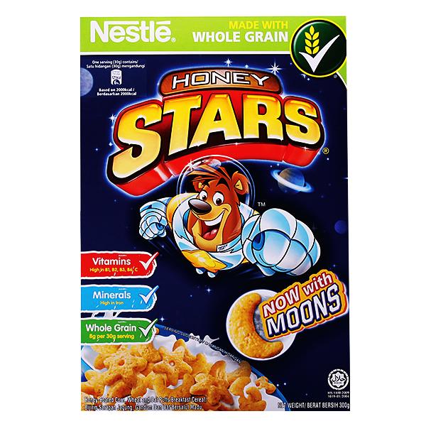 Bánh Ăn Sáng Nestle Honey Stars 150G