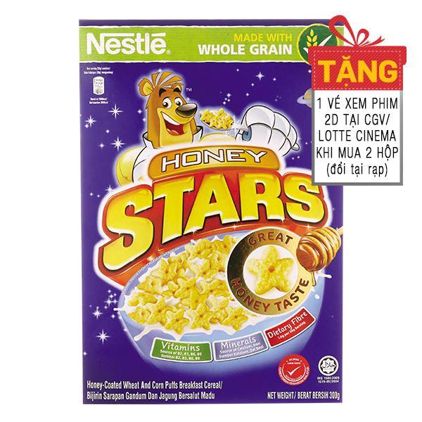 Bánh Ăn Sáng Nestle Honey Stars 300G