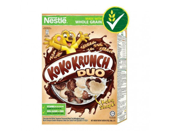Bánh Ăn Sáng Nestle Koko Krunch Duo 330G
