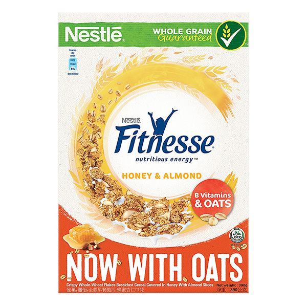 Bánh Ăn Sáng Fitnesse Mật Ong Và Hạnh Nhân 390G