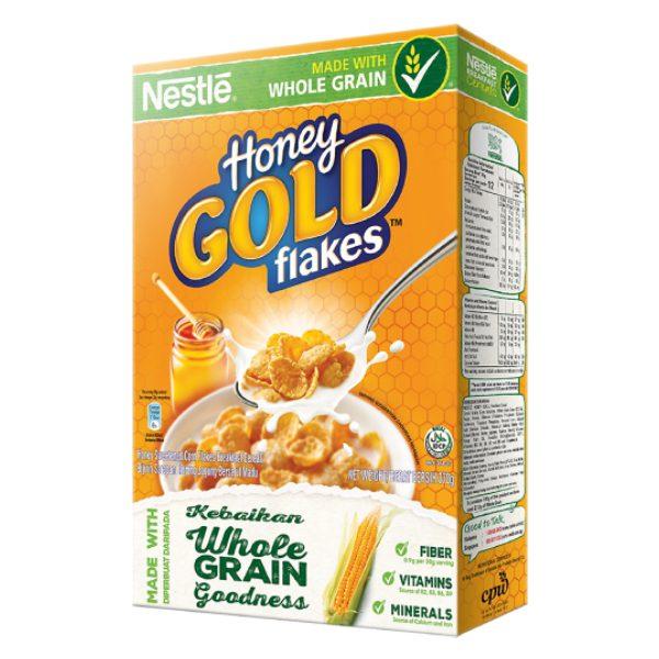 Bánh Ăn Sáng Nestle Gold Bắp & Mật Ong Hộp 370G