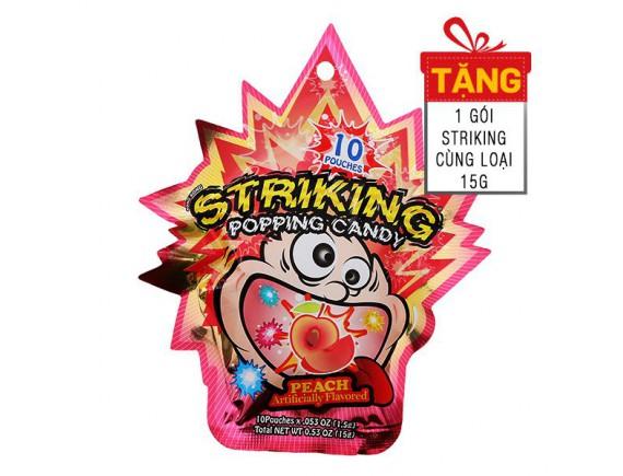 Kẹo Nổ Striking Vị Đào 30G