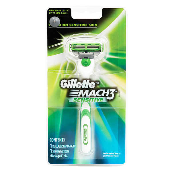 Dao Cạo Gillette Mach 3 Sensitive