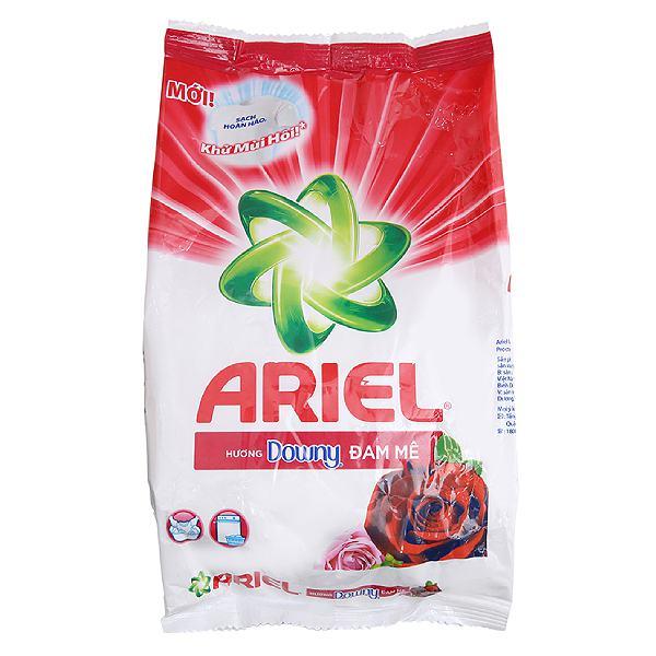 Bột Giặt Ariel Downy Đam Mê Bịch 650G