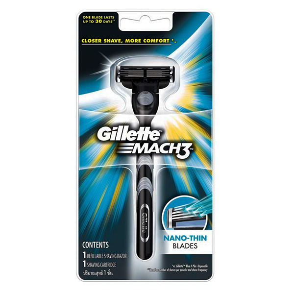 Dao Cạo Gillette Mach 3 Turbo