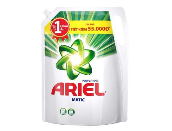 Nước Giặt Ariel Matic Đậm Đặc Túi 2,4Kg