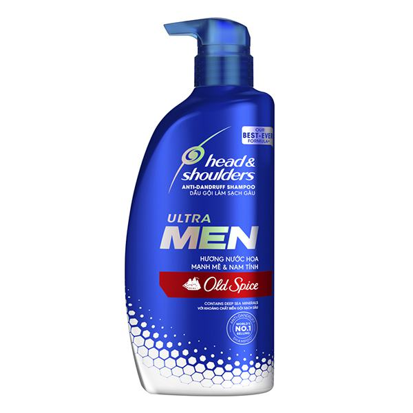 Dầu Gội Head & Shoulders Ultra Men Nước Hoa Oldspice Chai 720Ml