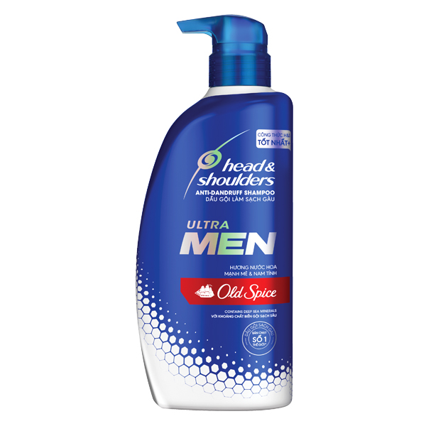 Dầu Gội Head & Shoulders Ultra Men Nước Hoa Old Spice 550Ml